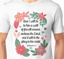 Zachariah 2:5 Unisex T-Shirt