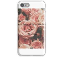 Kindness is... iPhone Case/Skin