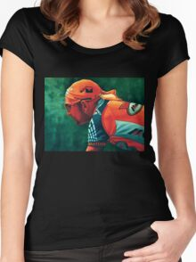 Marco Pantani The Pirate Women's Fitted Scoop T-Shirt