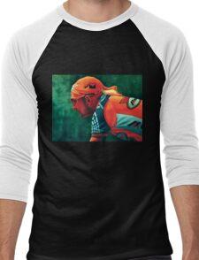 Marco Pantani The Pirate Men's Baseball ¾ T-Shirt