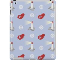 Maritimes Repeat Pattern iPad Case/Skin