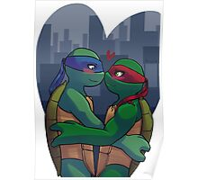 Leo and Raph nosebump Poster