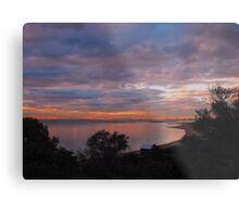 Brighton beach sunset - Victoria - Australia Metal Print