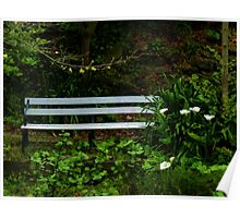 Secluded Seating Poster
