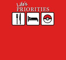 Life's Priorities Unisex T-Shirt