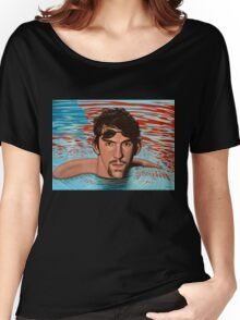 Michael Phelps painting Women's Relaxed Fit T-Shirt