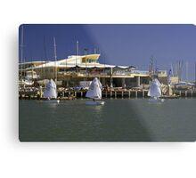 Sandringham Yacht Club  Victoria  Australia Metal Print