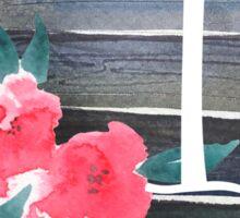 Floral Monogram I Sticker