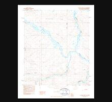 USGS TOPO Map Alaska AK Chandler Lake D-4 354848 1987 63360 Unisex T-Shirt