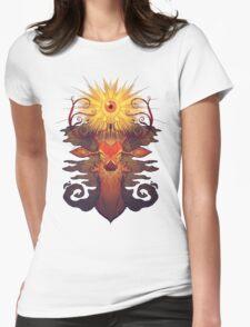 Eye Deer Womens Fitted T-Shirt