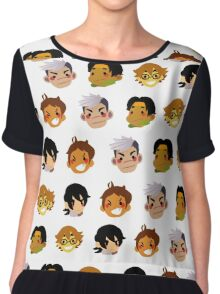 Voltron Legendary Defenders:Grid Chiffon Top