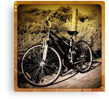Retro Bike - Brighton - Victoria - Australia Canvas Print