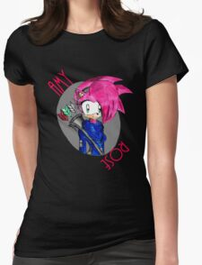 Bow Girl  Womens Fitted T-Shirt