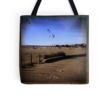 Brighton Beach - retro - Victoria - Australia Tote Bag