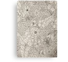 Clusters Canvas Print