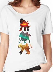 the legendary trio (beasts) Women's Relaxed Fit T-Shirt