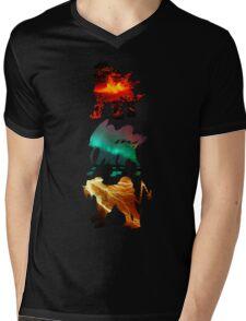 the legendary trio (beasts) Mens V-Neck T-Shirt