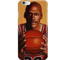 Michael Jordan painting 2 iPhone Case/Skin