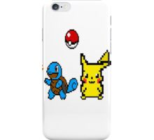 Starter Pokemon Pixel Art iPhone Case/Skin