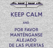 Monorail- Keep Calm (Purple) by Margybear