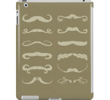 Mustache Chart Version 1 iPad Case/Skin
