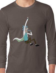 jump drunk rick Long Sleeve T-Shirt