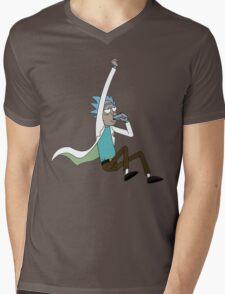 jump drunk rick Mens V-Neck T-Shirt