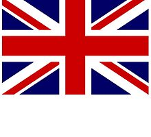 British Union Jack Flag 2;3, UK, United Kingdom, Command Flag by TOM HILL - Designer