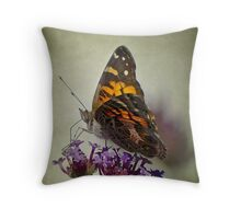 American Lady Throw Pillow