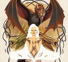 Mhysa/ Daenerys Targaryen. by LorenAssisi