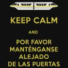 Monorail- Keep Calm (Gold) by Margybear
