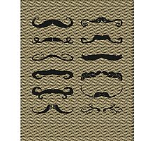 Mustache Chart Version 2 Photographic Print