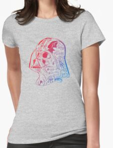 redblue robot Womens Fitted T-Shirt
