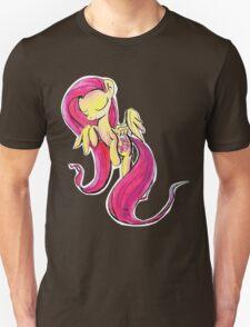 Watercolor Fluttershy Unisex T-Shirt