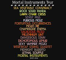 The Mortal Instruments Tour Unisex T-Shirt