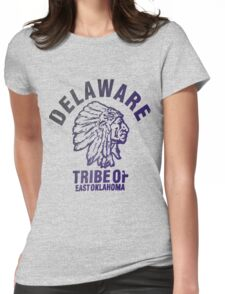 delaware Womens Fitted T-Shirt