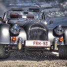 Morgan on Mont Ventoux by Alex  Motley
