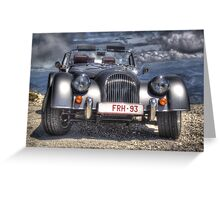 Morgan on Mont Ventoux Greeting Card