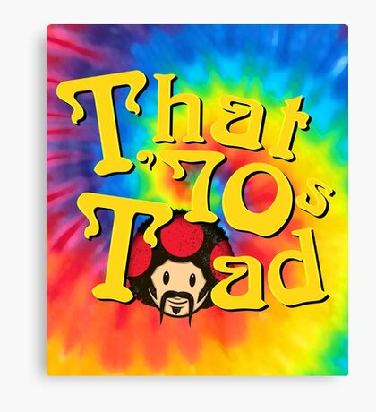 That 70's Toad Canvas Print