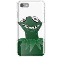 Creepy Kermit iPhone Case/Skin