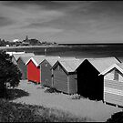 Brighton Beach Bathing Boxes - Victoria - Australia by bayside2