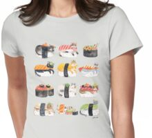 Nekozushi Womens Fitted T-Shirt