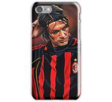 Paolo Maldini painting iPhone Case/Skin