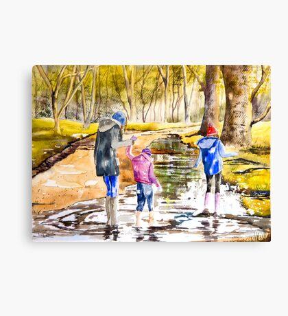 A Big Splash Canvas Print