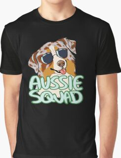 AUSSIE SQUAD (red merle) Graphic T-Shirt