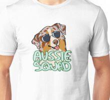 AUSSIE SQUAD (red merle) Unisex T-Shirt