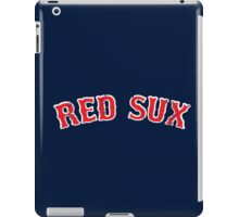 Vintage Red Sux - Blue iPad Case/Skin
