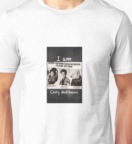 Boy Meets World-Cory Matthews Unisex T-Shirt
