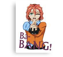 Dennis Macfield - Ba-Bang! Canvas Print