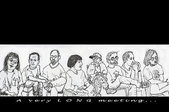 A very LONG meeting by James Lewis Hamilton